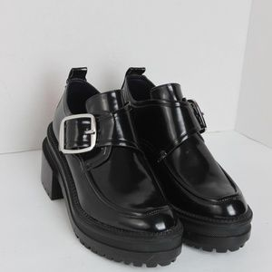 Zara Trafaluc Black Ankle Shoe
